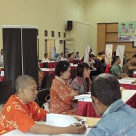 LKP. Darul Ihsan Berpartisipasi dalam Job Market Fair 2014