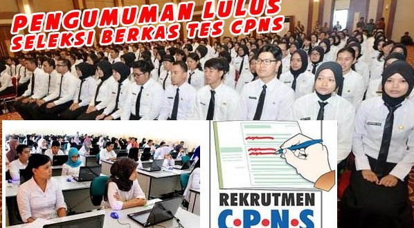 Pengumuman Lulus Seleksi Berkas Tes CPNS Tahun 2017