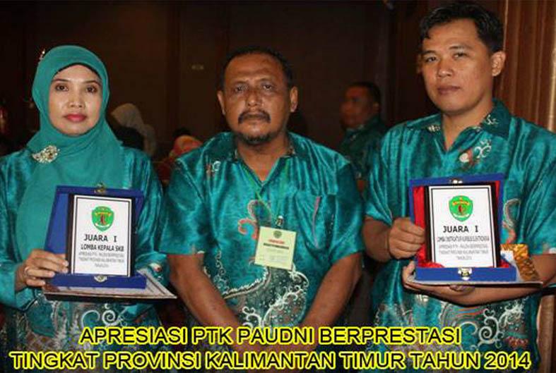 LKP. Darul Ihsan Juara I PTK.Paudni Berprestasi Tahun 2014 dan Tahun 2015