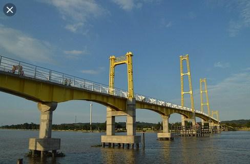 Tempat Wisata di Tenggarong Jembatan Repo-Repo